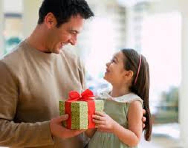 Подарок на год для малыша и папы